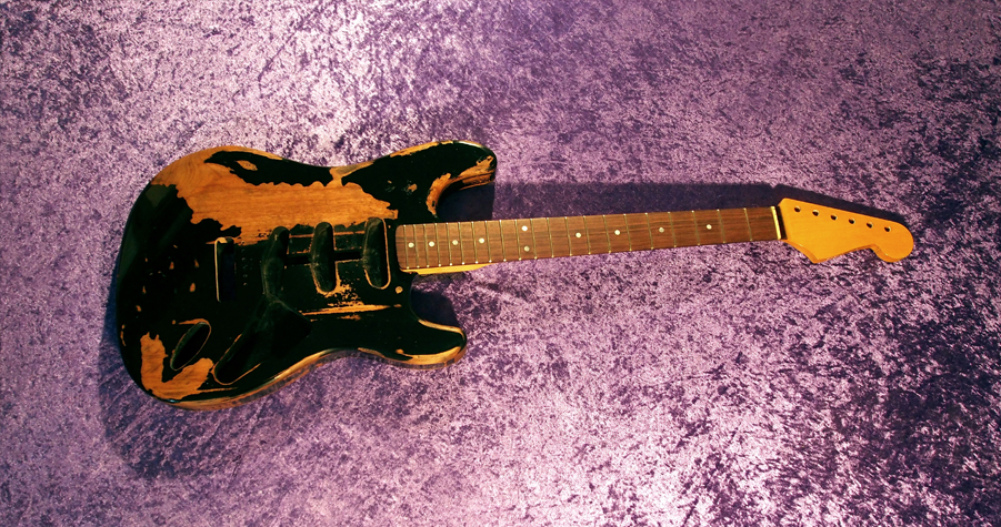 stratocaster fender All Parts Wood apw guitars neck stratocaster