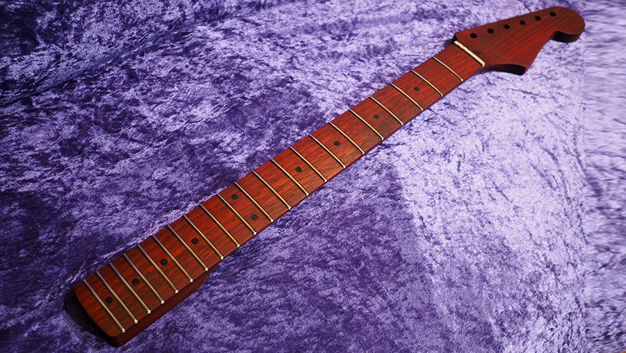 stratocaster fender All Parts Wood apw guitars neck stratocaster padouk