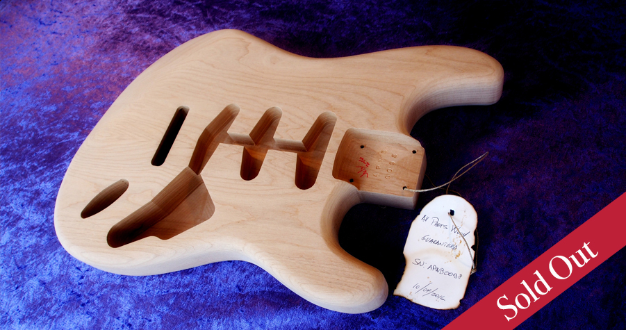 stratocaster fender all parts wood apw guitars