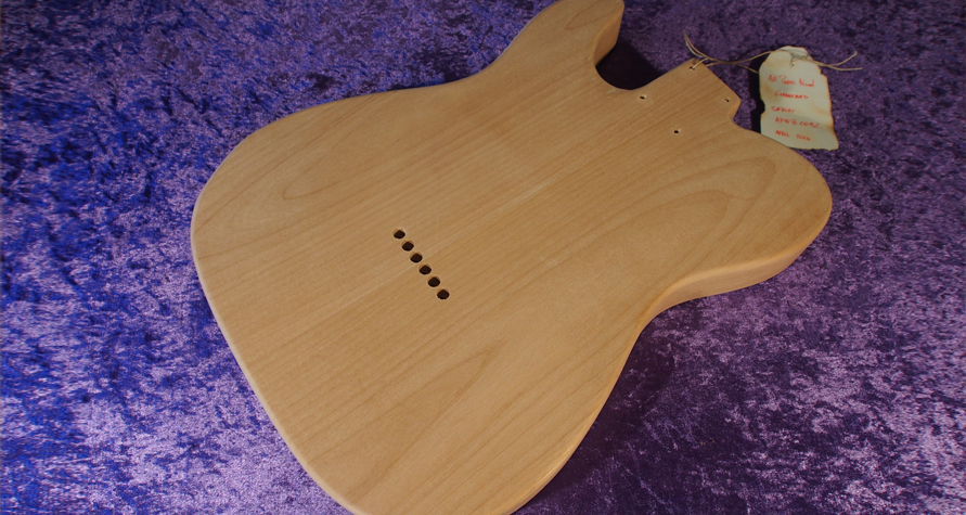 Telecaster Fender All Parts Wood APW Guitars