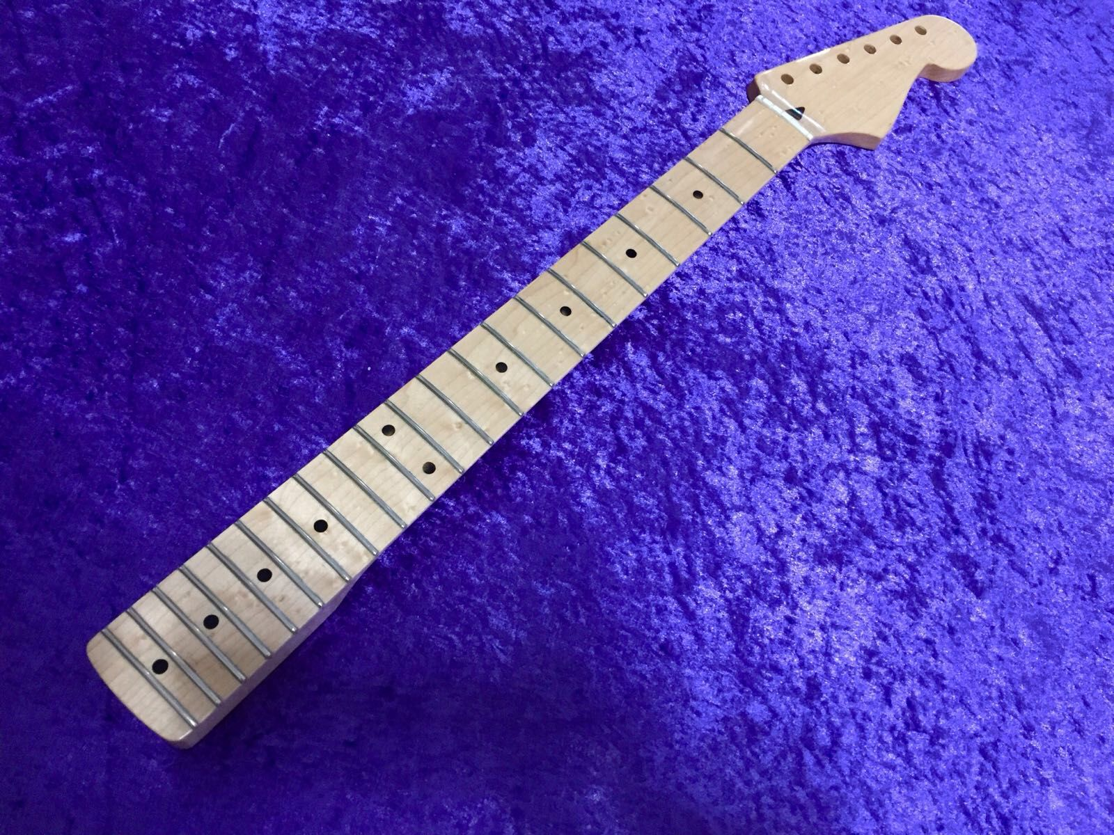 fender all parts wood apw guitars neck stratocaster
