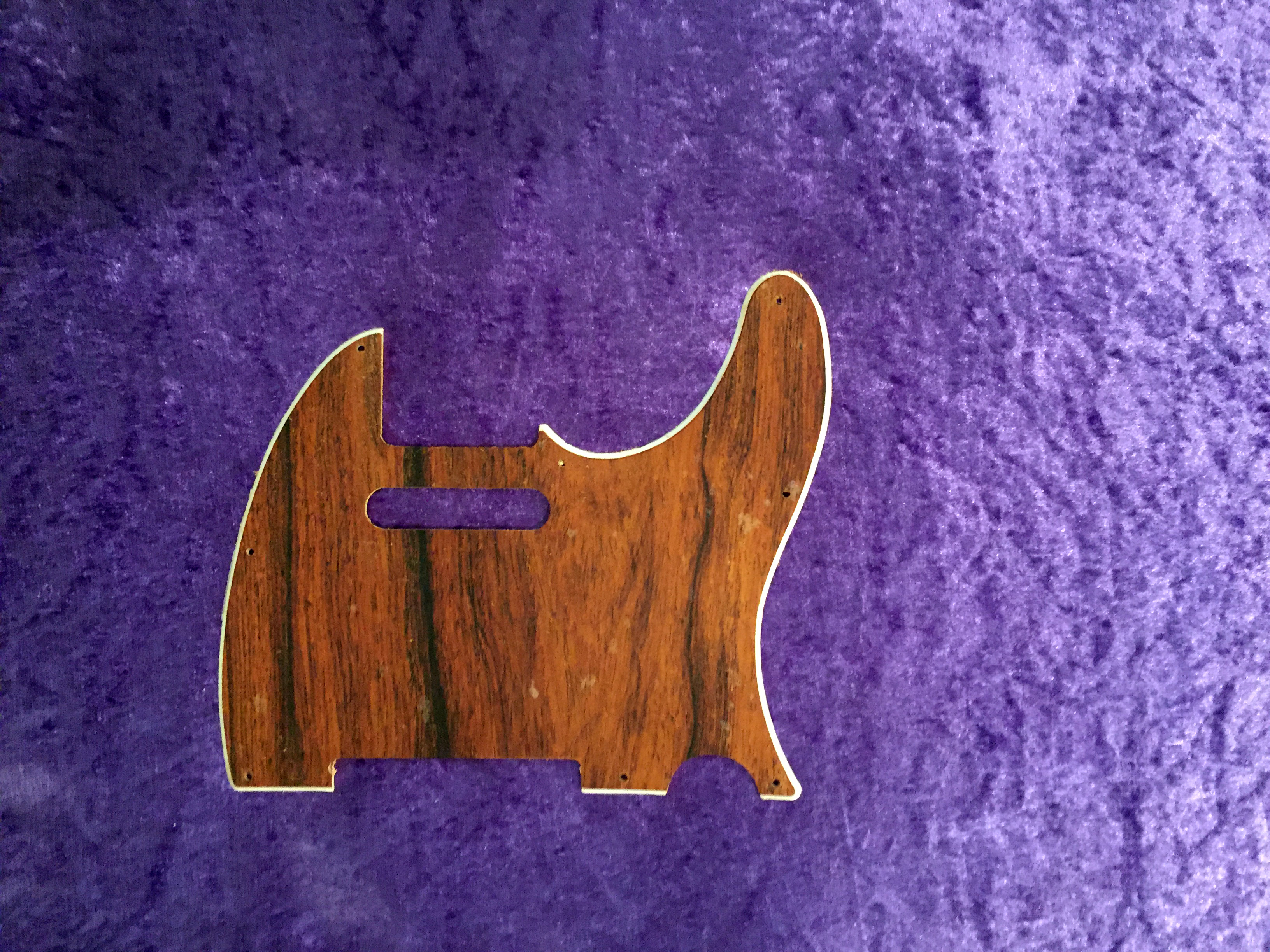 fender all parts wood apw guitars telecaster pickguard