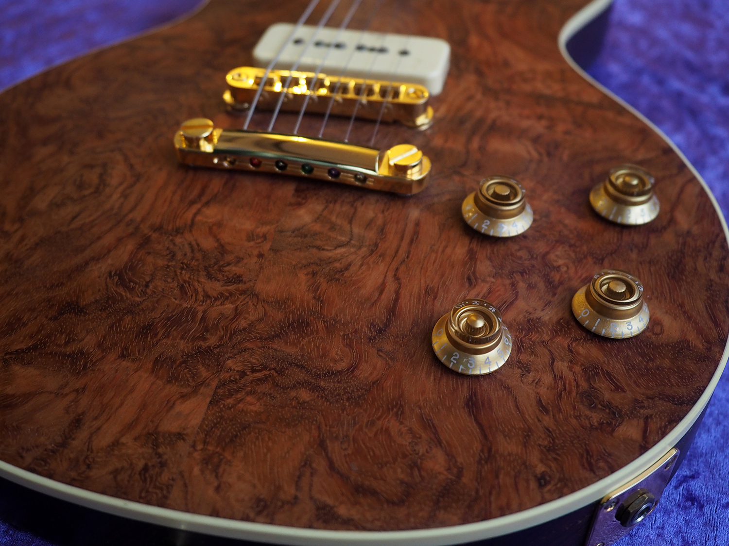 All Parts Wood gibson les paul EX-1 EX 1 APWGuiatrs